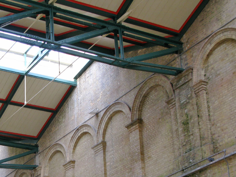 Ceiling of Crystal Palace Station