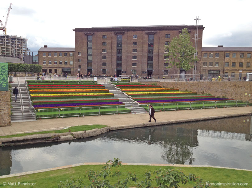 Granary Square - King's Cross - London