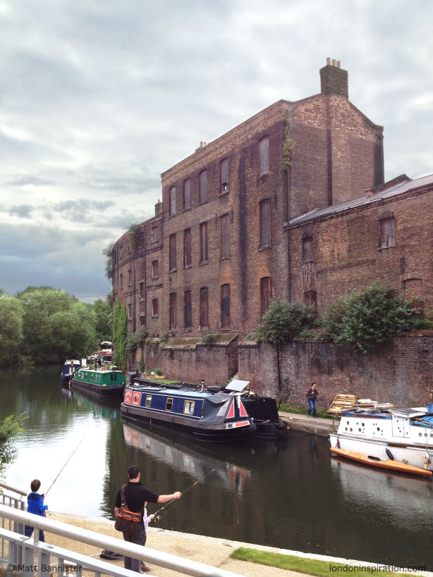 Grand Union Canal - King's Cross - London