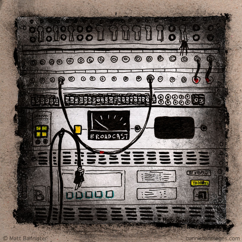 artwork of electrical equipment