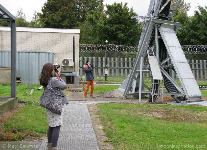 people taking photographs