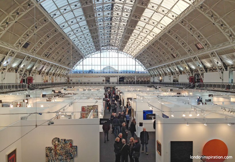 London Art Fair interior