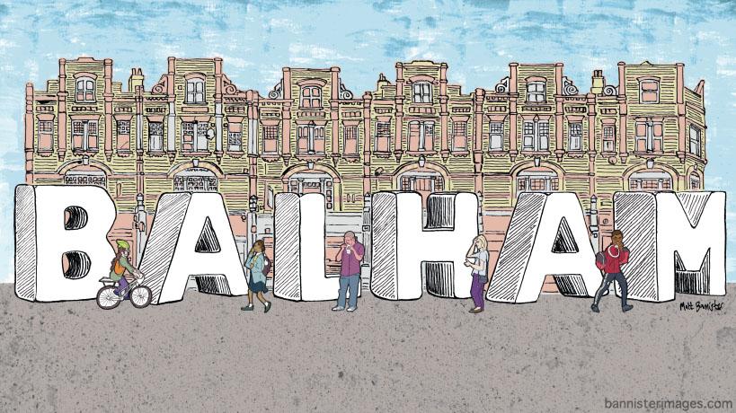 illustration of Balham High Road