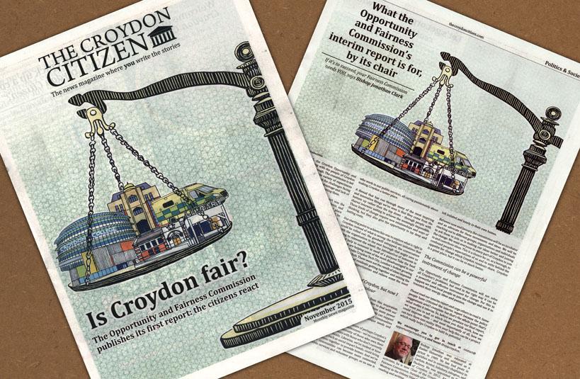 Croydon Citizen fair spread 819