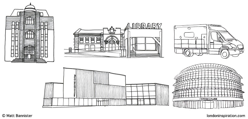 Fair Croydon sketches