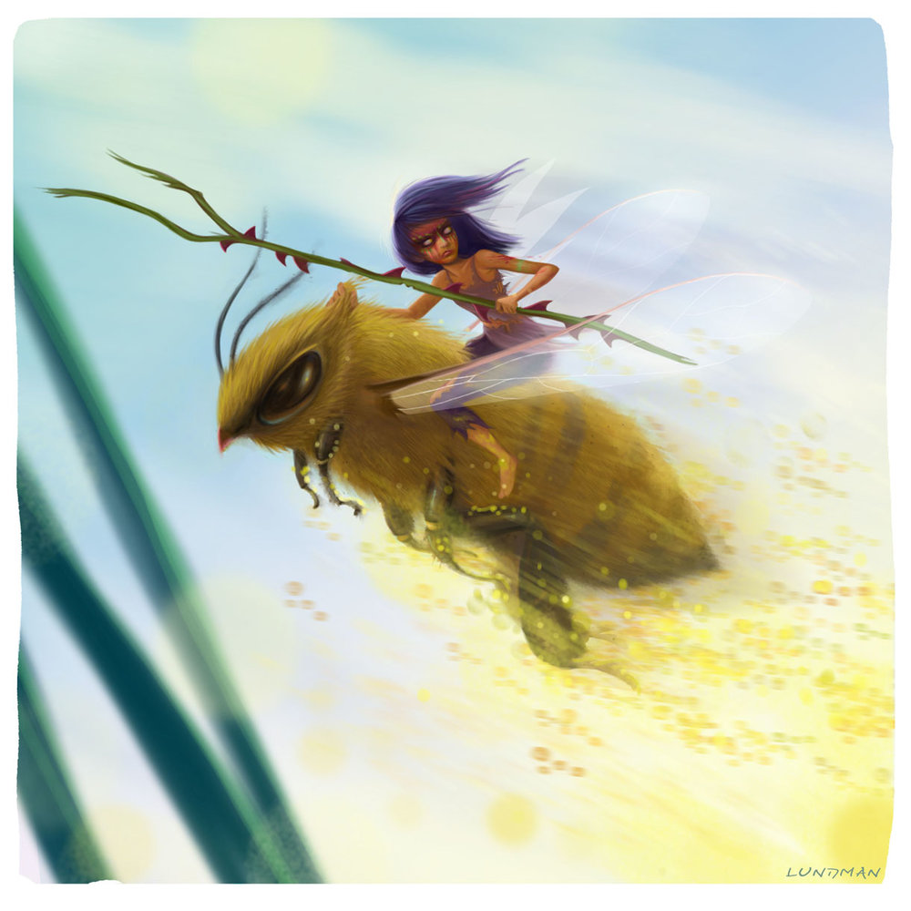 """Bee Rider"", Photoshop"