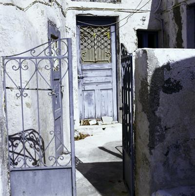 Santorini Door 01