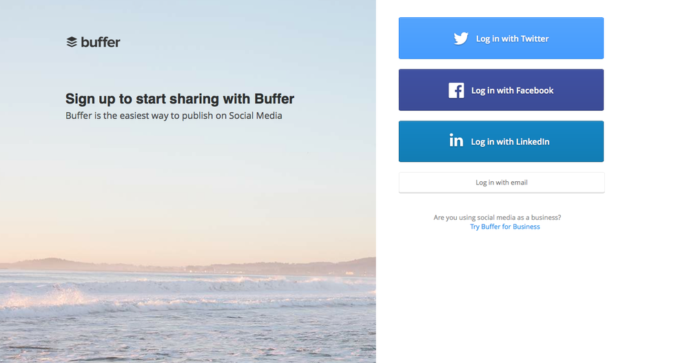 The Buffer app allows you to schedule posts and share your content at strategic times. www.bufferapp.com