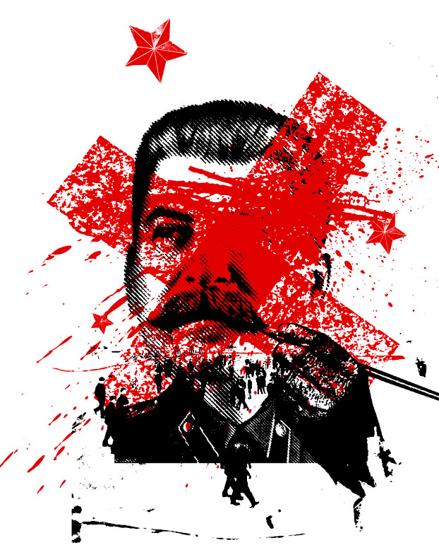 recent portrait about the rewriting of russian history to gloss over some of stalins atrocities