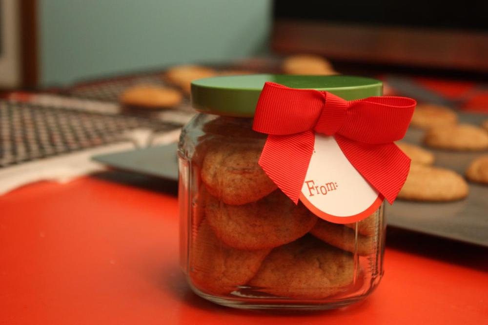 The best snickerdoodles ever. Crunchy outside, fluffy inside.
