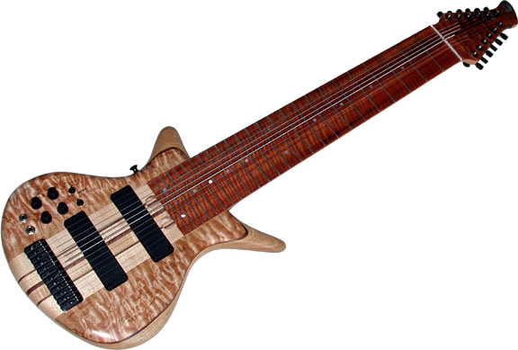 Warr Artist 12-String Neck-thru
