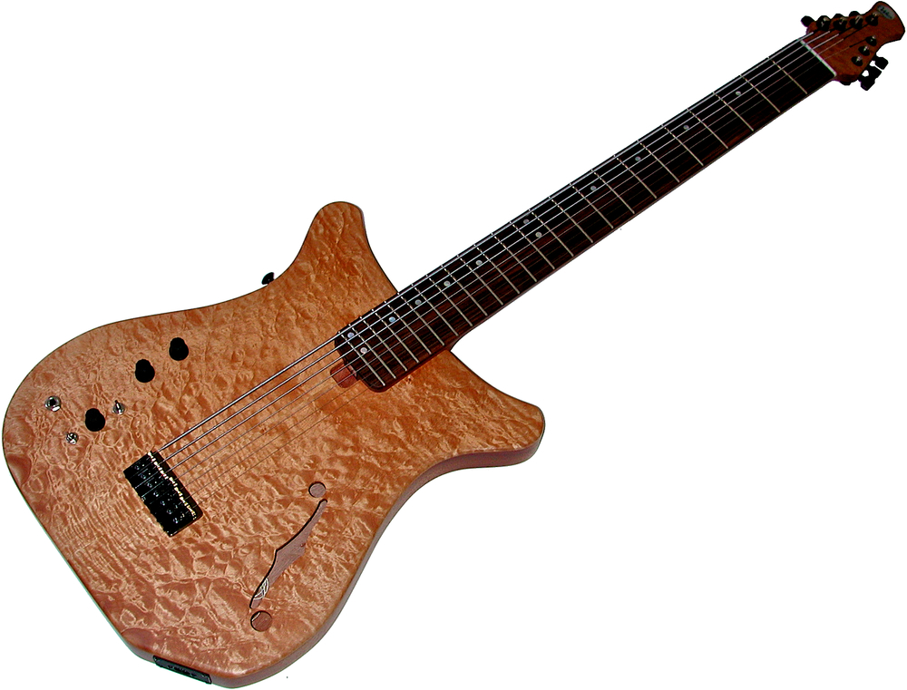 Artisan 8-String Semi-Hollow Body