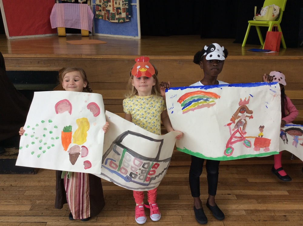 We painted some pictures too.