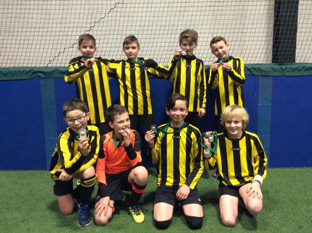 A great 2nd place finish out of 16 teams. Well done boys! :)