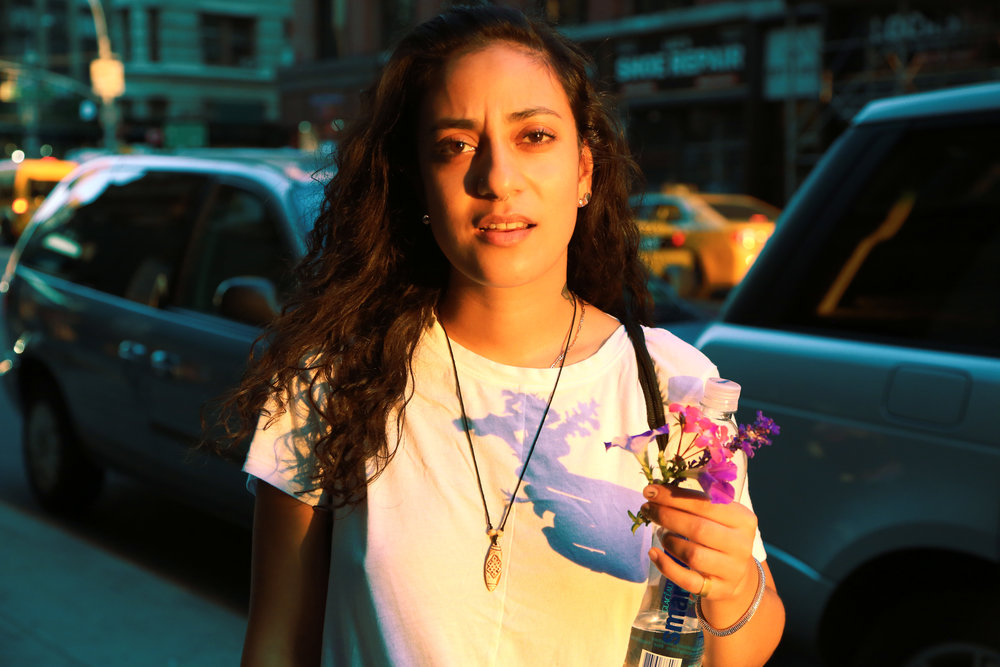 My Taina During a New York Sunset, 2014
