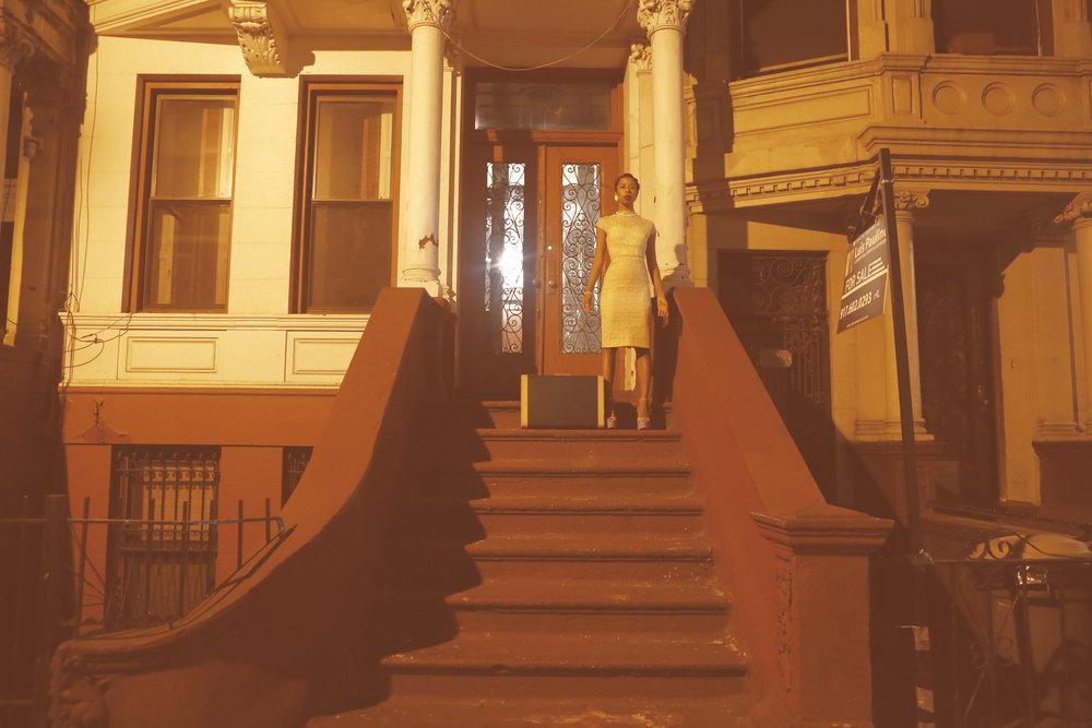 In Search of The Sweet Life // Kia LaBeija on Sugar Hill, Self Portrait 2015