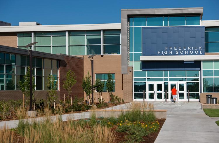 frederick high school no 8 colorado landscape architecture design