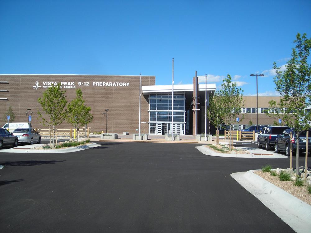 vista peak high school-colorado landscape architecture | design