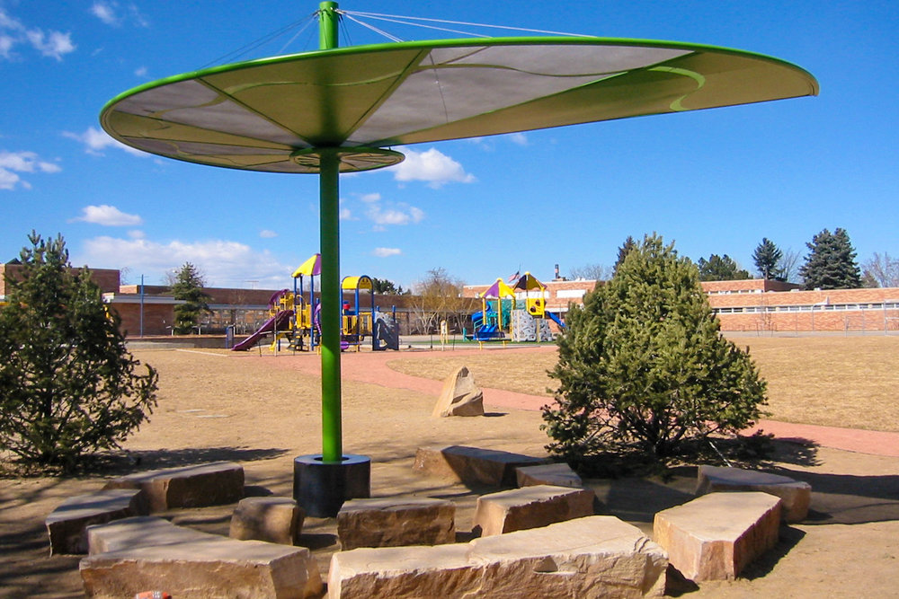 School playground learning landscape outdoor classroom