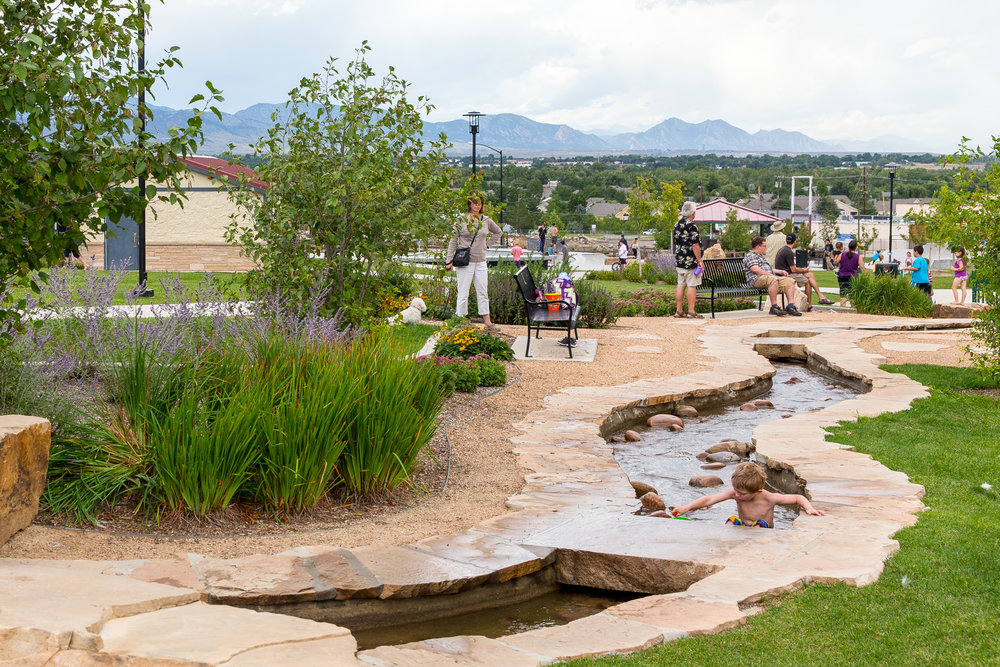 Design concepts landscape architecture denver colorado for Park landscape design