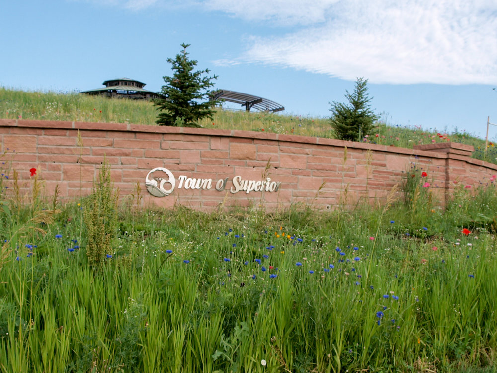 In Superior Colorado an engaged local community asked for a wide variety of park amenities to help enhance their quality of life