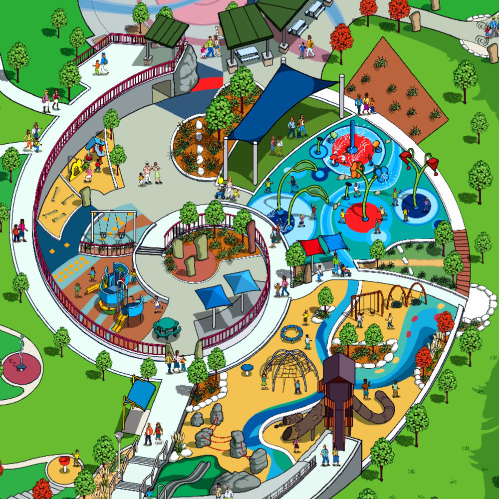 Click to explore the City's interactive park map