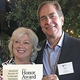 Carol Henry and Roger Burkart | 2018 CASLA Honor Award