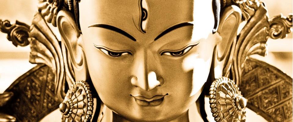 A Tara statue in Tara Mandala