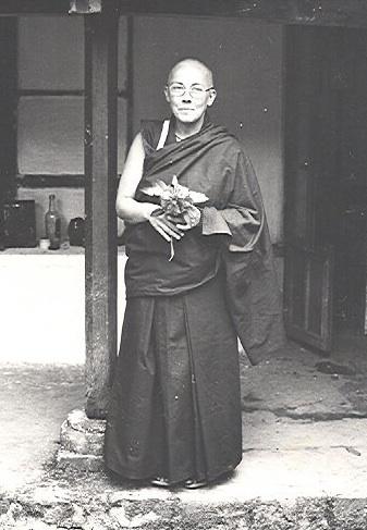 Ordination 1978, Tushita, Dharamsala