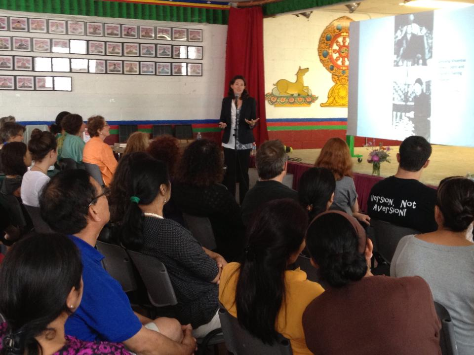 Wonderful audience at the Tibetan Alliance Chicago