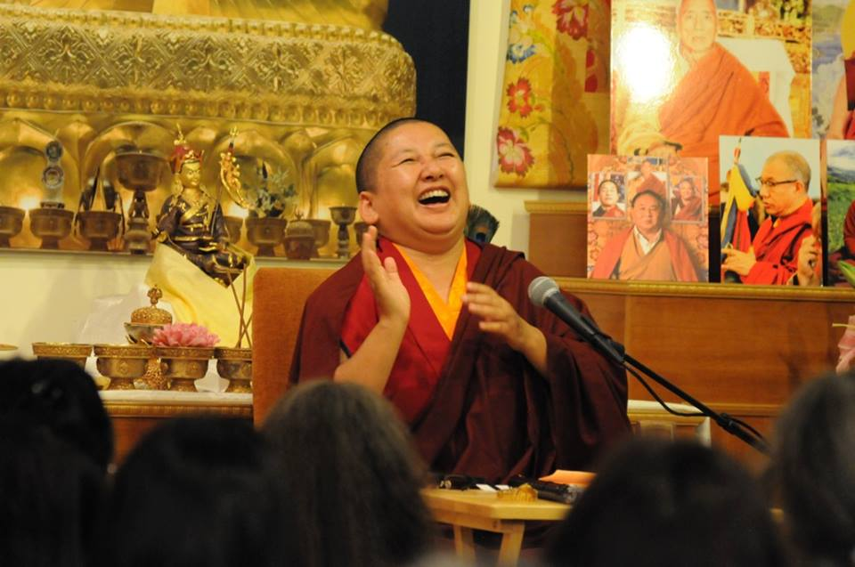 Khandro Rinpoche at Rigpa New York