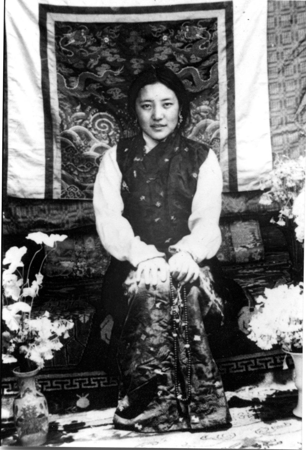 Khandro-la in Lhasa, 1965
