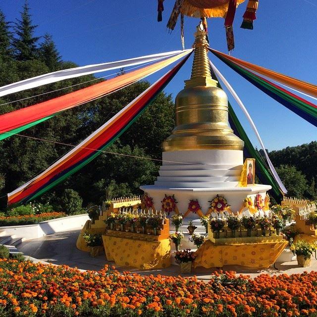 Khandro`s Memorial Stupa