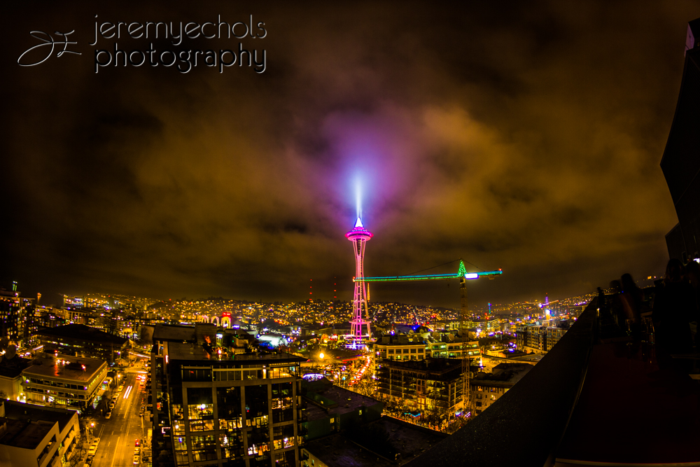 New Years Eve Space Needle