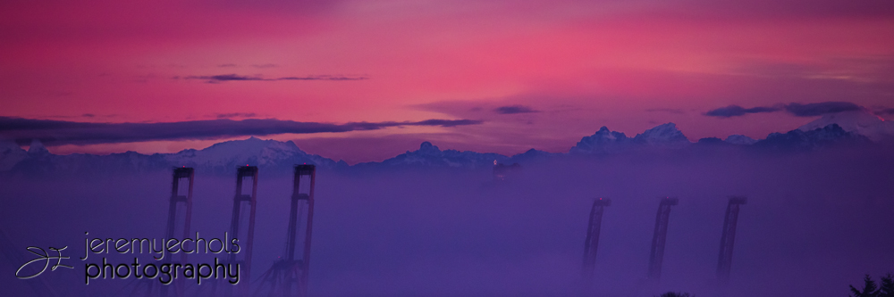 Seattle City Sunrise