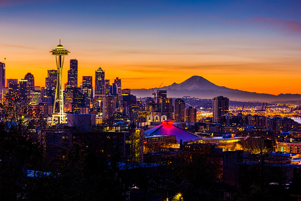 Seattle at Sunrise