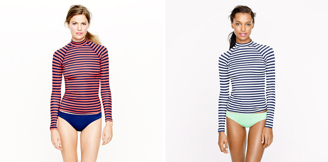 Striped Rash Guards