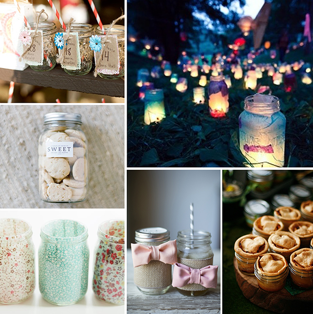 Diy Ideas Mason Jars Costa Rica Wedding Travel Inspiration