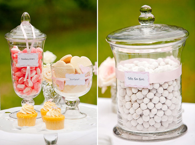 Brand-new DIY :: Glass candy jars — Costa Rica Wedding & Travel Inspiration SS03