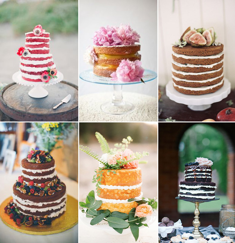 Wedding Cake Inspiration Ideas: Inspiration & Ideas :: Naked Wedding Cake