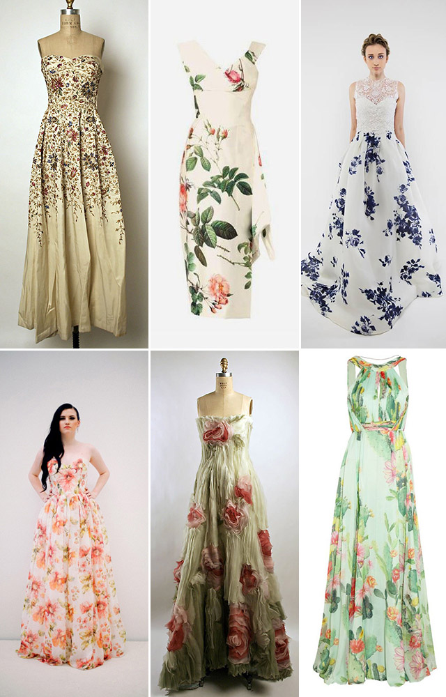 Making a Statement :: Floral Gowns — Costa Rica Wedding & Travel ...