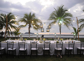 "A boutique wedding and event production company, Liquid Weddings collaborates with coordinators based in Guanacaste and Central South Pacific and and serves all of Costa Rica.  They encourage couple's to keep their focus on ""the experience"" and natural elegance that Costa Rica can provide for their most memorable day."