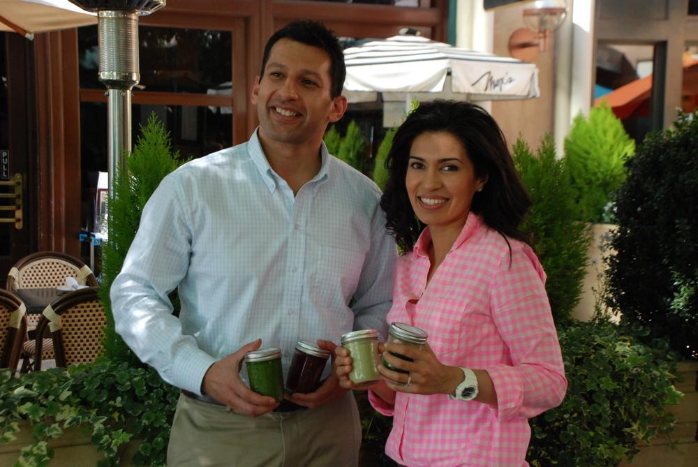 Bushel Co-Founders Faruk and Tasneem Manjra