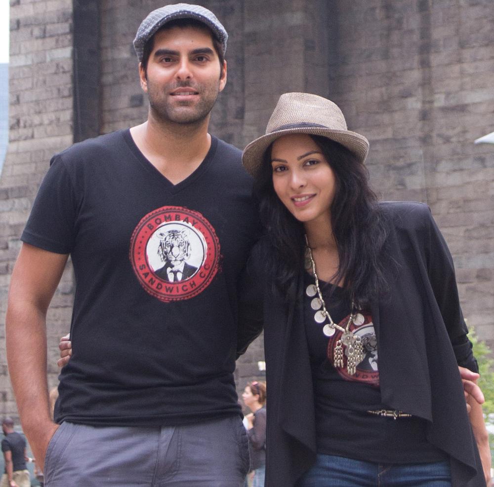 Bombay Sandwich Co. Co-Founders Shiv Puri andShikha Jain
