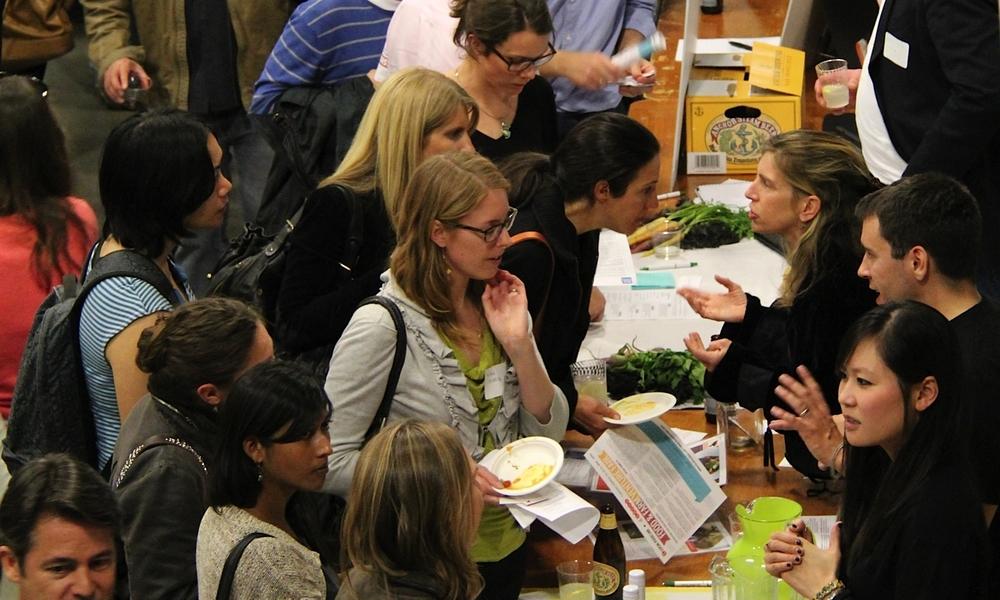 FOOD & FARM VENTURE FAIR AT STANFORD UNIVERSITY'S D.SCHOOL, MARCH 2013