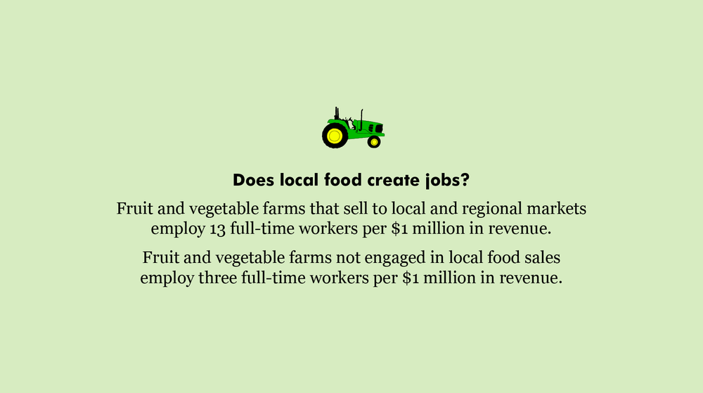 Local food jobs