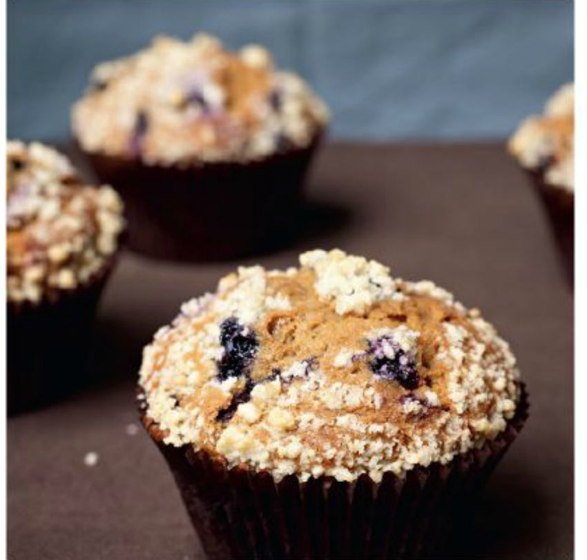 #blueberrymuffin #recipe credit: Bouchon Bakery Cookbook