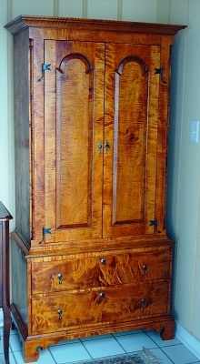 Pennsylvania linen press