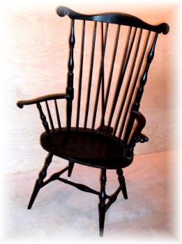 Fanback Windsor arm chair
