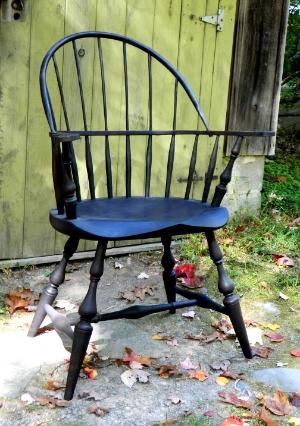 Sackback Windsor chair